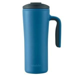 אלדין כוס תרמית עם ידית כחול