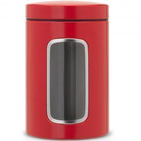 קופסת איחסון אדומה 1.4 ליטר