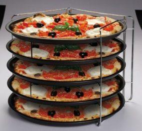 סט תבניות פיצה