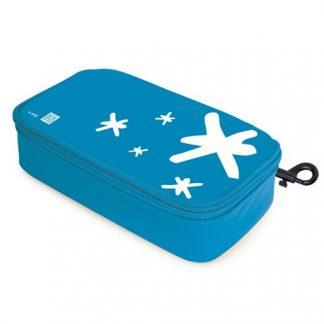 תיק אוכל תרמי IRIS כחול